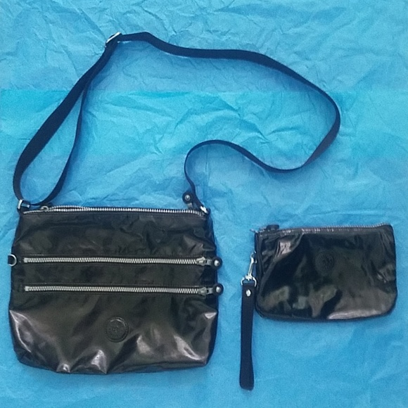 fbf819701 Kipling Bags   Patent Leather Large Alvar Crossbody   Poshmark